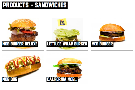 Vegan Burger and Hot Dogs